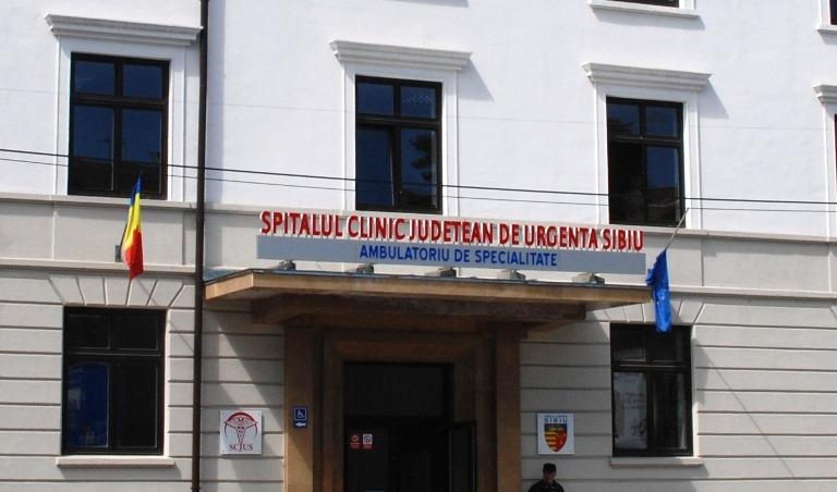 La Spitalul Judeţean Sibiu două secții verzi au fost deschise pentru pacienţii cu COVID-19