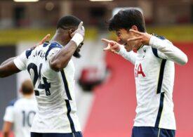 Tottenham, cu Mourinho pe bancă, a umilit-o pe Manchester United cu un scor de tenis (Video)
