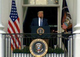 Trump: Se pare că sunt imun la Covid-19, nu ştiu pentru cât timp. Poate o perioadă lungă, poate una scurtă, poate pe viaţă