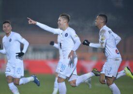 Liga 1: Viitorul și FC Argeș, egal cu scântei pe final, după 2-0 pentru piteșteni