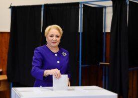 Dăncilă vrea loc eligibil la parlamentare şi susţine că Dragnea o lucrează şi din închisoare