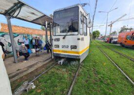 Coliziune între două tramvaie în Bucureşti: Patru persoane au fost rănite