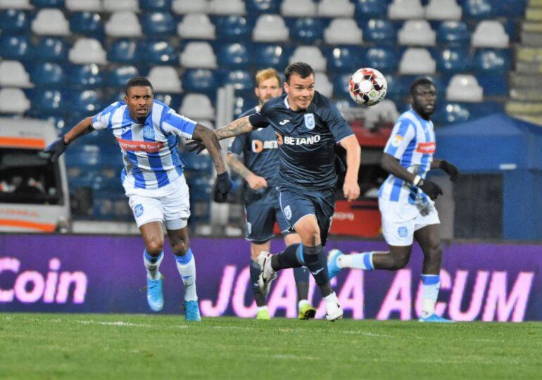 Universitatea Craiova ajunge la 6 victorii din tot atâtea meciuri, dar și-a pierdut golgheterul după o accidentare groaznică