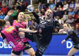 CSM București, învinsă în Liga Campionilor