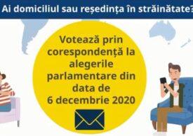 Românii din diaspora se mai pot înscrie pentru votul prin corespondenţă doar până la miezul nopții. Câți sunt până acum