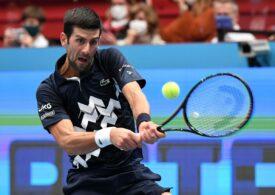 Djokovic a suferit o înfrângere usturătoare la Viena