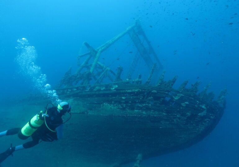 Epava unei nave naziste ar putea deţine cheia pentru găsirea comorilor din Salonul de Chihlimbar
