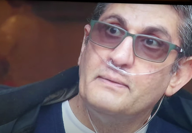 Un bărbat de 59 de ani a fost externat după 4 luni de comă indusă din cauza COVID