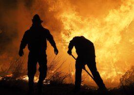 Prahova: Incendiu la un centru de încărcare a buteliilor, două victime rănite grav