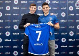 Presa scoțiană scrie despre dilema lui Gerrard în ce-l privește pe Ianis Hagi