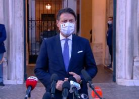 Premierul italian Giuseppe  Conte şi-a prezentat demisia. Preşedintele începe consultări cu partidele