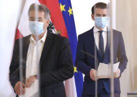 Austria limitează adunările, dar nu închide restaurantele. Ce măsuri anunță cancelarul Kurz