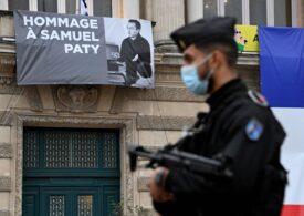 Profesor decapitat în Franţa: Şapte persoane au fost inculpate, inclusiv doi elevi