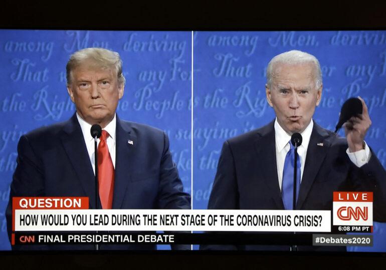 Dezbaterea finală i-a crescut uşor şansele lui Trump la casele de pariuri