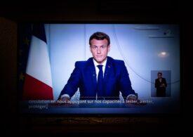 Franța intră în carantină pentru o lună: Toți în case la ora 19, restricții de călătorie, școli și magazine închise