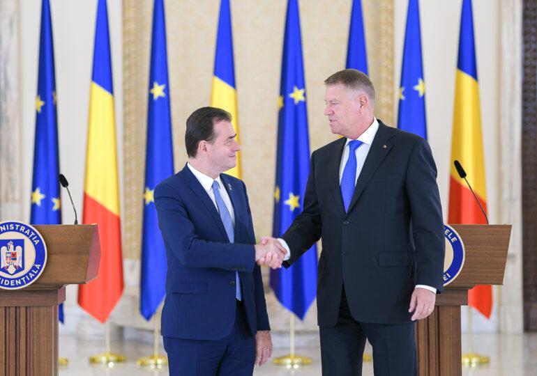 Iohannis l-a chemat pe Orban la Cotroceni, după ce PNL a pierdut alegerile