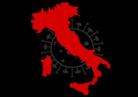 Italia a înregistrat o cifră record de cazuri noi de Covid: Peste 10.000, în ultimele 24 de ore