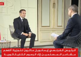 Macron s-a adresat musulmanilor la postul TV Al-Jazeera: Puteți fi şocaţi de caricaturile cu profetul Mohamed, dar asta nu justifică violenţa