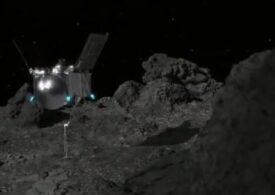 Moment istoric pentru NASA: O sondă a reușit să atingă asteroidul Bennu. În câteva zile aflăm dacă a colectat praf cosmic
