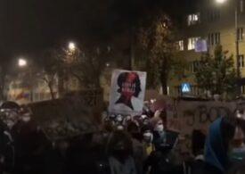 Protestele masive continuă în Polonia, după ce avortul a fost interzis aproape total (Video)