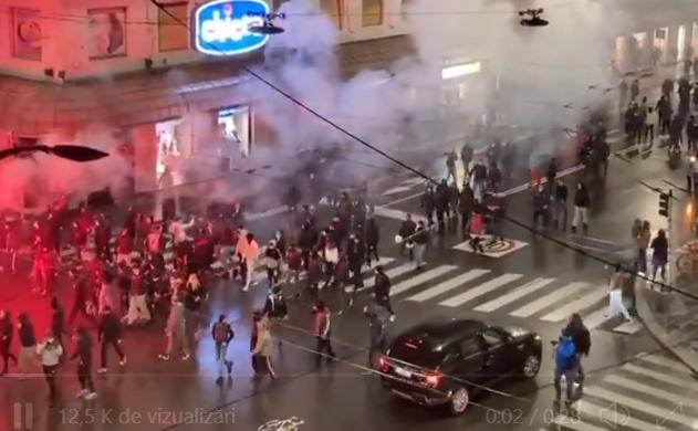 Proteste violente în Italia, după ce au fost impuse noi restricţii în contextul pandemiei (Foto&Video)