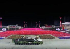 Coreea de Nord a prezentat un nou tip de rachetă balistică intercontinentală (Video)