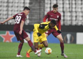 Notele primite de jucătorii lui CFR Cluj după meciul din Europa League