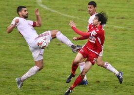 Liga 1: Dinamo ajunge la patru înfrângeri consecutive