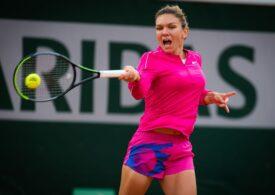 Simona Halep avansează în optimi la Roland Garros cu o victorie categorică