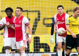 Scor incredibil realizat de Ajax în prima ligă de fotbal din Olanda