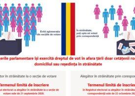 Câți români din diaspora s-au înscris pentru votul prin corespondenţă la alegerile parlamentare