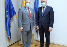 Ministrul Lucian Bode a aflat că are coronavirus chiar în ziua în care s-a întâlnit cu ambasadorul SUA