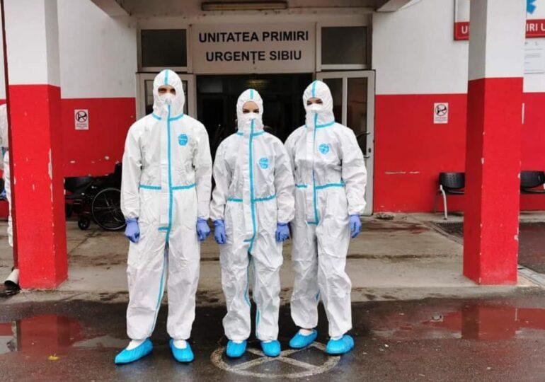 Focar de COVID-19 la Spitalul Județean Sibiu - Neurologia a fost închisă, iar bolnavii sunt trimiși la alt spital pentru internări
