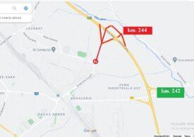 Sibiu: Legătura oraşului cu Autostrada A1 va fi închisă de duminică seara