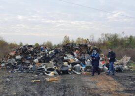 Garda de Mediu a închis zece firme pe care le-a controlat marți  în Dâmbovița și a confiscat 11 tone de fier vechi