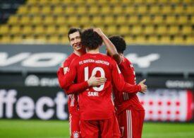 Bayern o învinge pe Borussia într-un derbi spectaculos (Video)