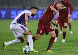 Liga 1: CFR Cluj pierde al doilea meci consecutiv acasă