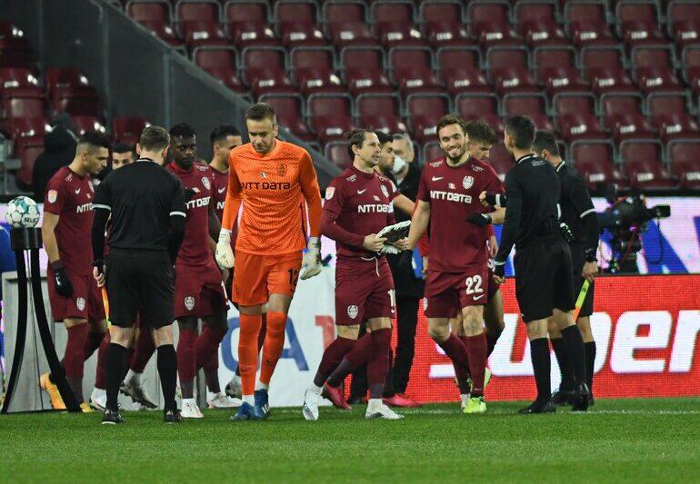 Trei jucători importanți de la CFR Cluj au fost infectați cu noul coronavirus