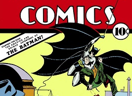 Un exemplar al primei cărţi de benzi desenate în care a apărut Batman, vândut pentru 1,5 milioane de dolari