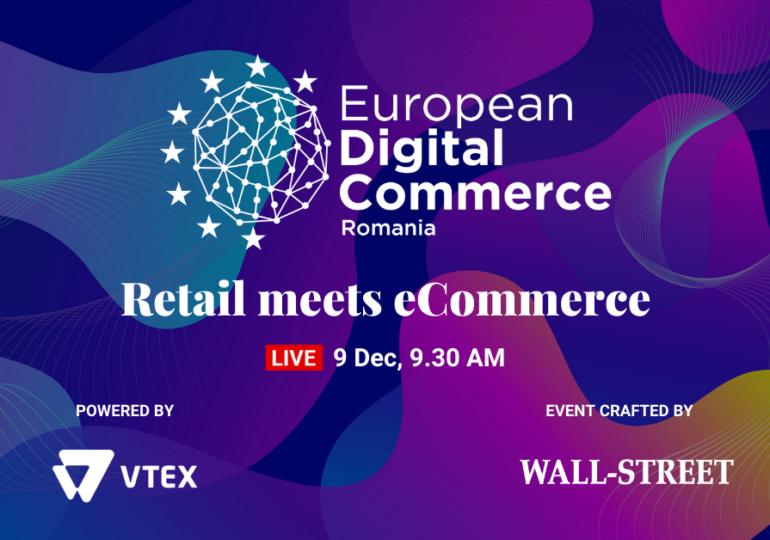 European Digital Commerce: Înscrie-te gratuit pentru a afla cele mai noi tendințe din comerțul online