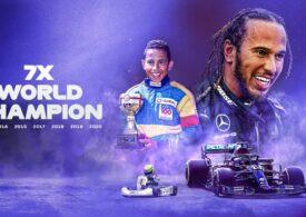 Lewis Hamilton, campion mondial pentru a șaptea oară în Formula 1