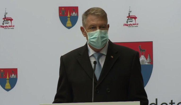 Iohannis dă asigurări că noile restricții sunt bine gândite și discutate cu experți. Ce spune despre lockdown
