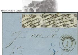 O scrisoare timbrată din secolul al XIX-lea a fost vândută pentru 430.000 de euro în Germania