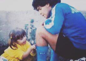 """Mesaj emoționant în memoria lui Maradona, trimis de către una dintre fiicele sale: """"Deja îmi este dor de tine, tată!"""""""