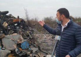Descinderi la Sintești (Ilfov): Sunt vizați cei care ard ilegal deșeuri și poluează masiv Capitala (Video)