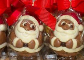 Coronavirusul transformă dulciurile. Anul acesta, Moş Crăciun din ciocolată are mască (Foto)