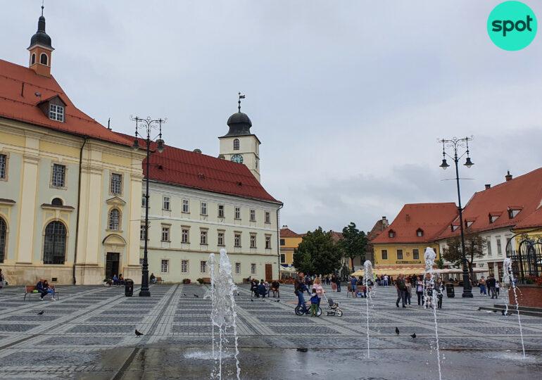 Carantină la Sibiu! Mall-urile sunt închise în weekend, de luni se iese din casă cu declarație scrisă