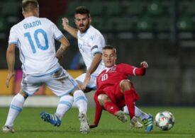 San Marino reușește o performanță în premieră în istoria sa după un egal în Nations League