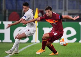 Europa League: CFR Cluj, învinsă din nou de AS Roma