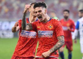 Liga 1: FCSB învinge la scor Astra Giurgiu